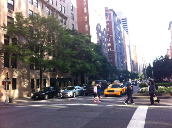 A street in the upper east side