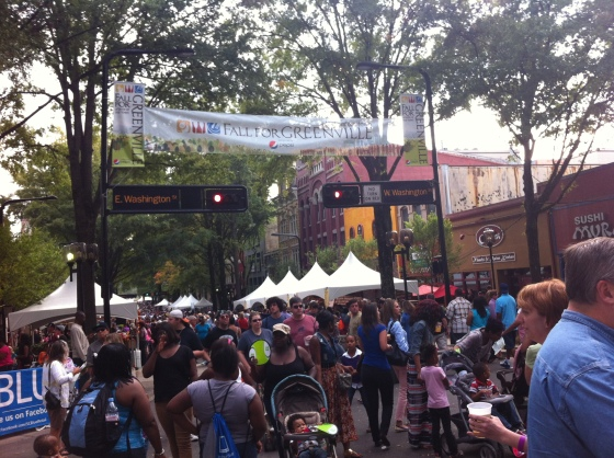 Fall for Greenville Food Festival!