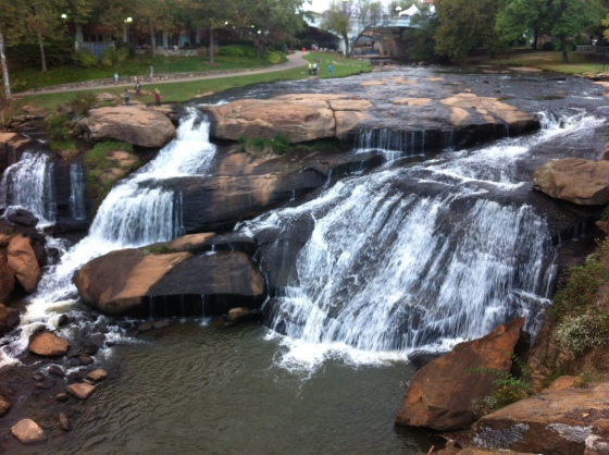 Waterfall in Greenville!