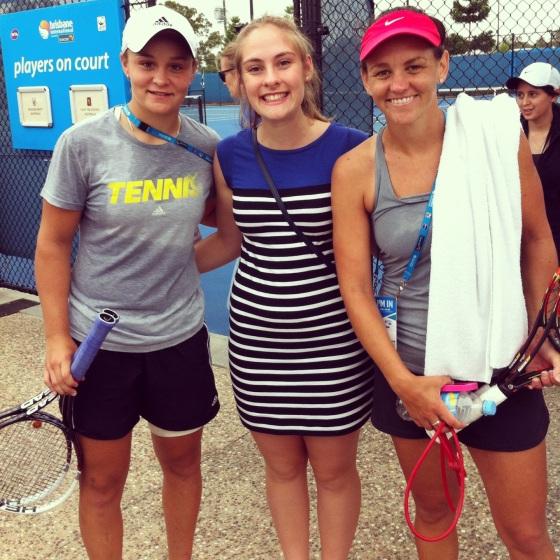 Ashley Barty and Casey Dellacqua (Top Australian Doubles Team)